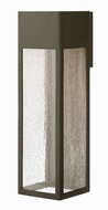Hinkley 1788BZ-LL Rook Contemporary Bronze LED Exterior Extra Large Sconce Lighting