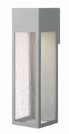 Hinkley 1788TT-LL Rook Contemporary Titanium LED Exterior Extra Large Wall Sconce Lighting