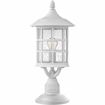 Hinkley 1801CW-GU24 Freeport Classic White Fluorescent Outdoor Post Lamp