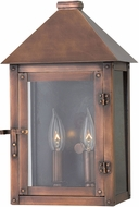 Hinkley 18200AP Thatcher Antique Copper Outdoor Wall Mounted Lamp