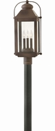 Hinkley 1851LZ Anchorage Light Oiled Bronze Outdoor Lighting Post Light