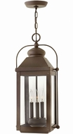 Hinkley 1852LZ Anchorage Light Oiled Bronze Exterior Hanging Light