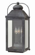 Hinkley 1855DZ Anchorage Traditional Aged Zinc Outdoor Wall Lighting