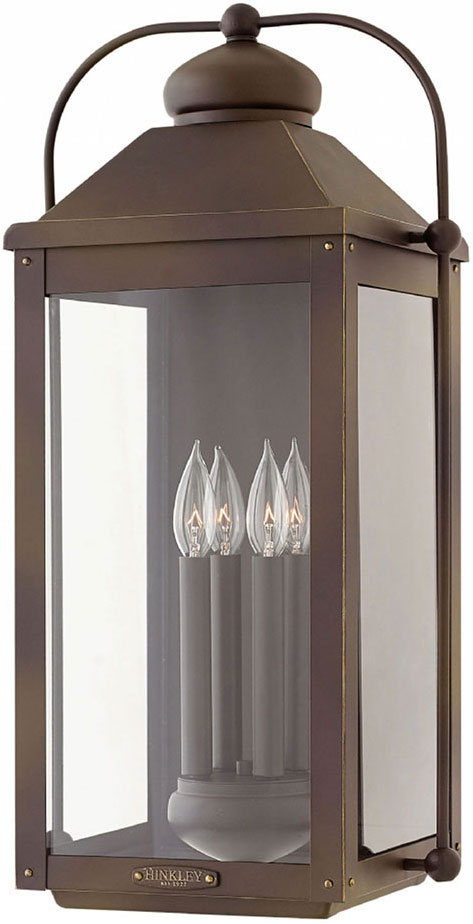 hinkley 1858lz anchorage light oiled bronze outdoor