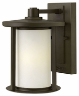 Hinkley 1910OZ Hudson Small Oil Rubbed Bronze Exterior Wall Lamp - 9 Inches Tall