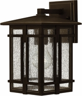 Hinkley 1960OZ-LED Tucker Oil Rubbed Bronze LED Outdoor Wall Sconce Light