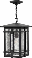 Hinkley 1962MB-LED Tucker Museum Black LED Exterior Lighting Pendant