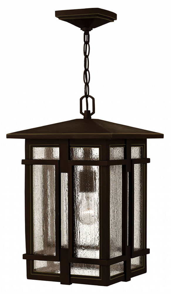 hinkley 1962oz tucker traditional oil rubbed bronze exterior pendant light fixture loading zoom - Bronze Pendant Light