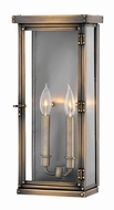 Hinkley 2005DS Hamilton Dark Antique Brass Outdoor Large Wall Lighting Sconce