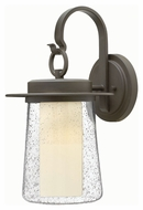 Hinkley 2014OZ Riley Traditional Oil Rubbed Bronze Finish 18.25  Tall Exterior Wall Sconce Lighting