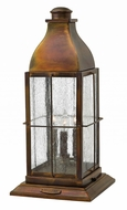 Hinkley 2047SN Bingham Retro Sienna Exterior Post Light