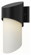 Hinkley 2060SK Solo Modern Satin Black Finish 6  Wide Outdoor Wall Lighting Sconce