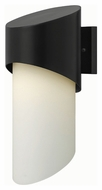 Hinkley 2064SK Solo Modern Satin Black Finish 7  Wide Outdoor Wall Mounted Lamp