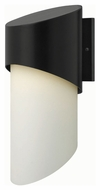 Hinkley 2065SK Solo Modern Satin Black Finish 8  Wide Outdoor Wall Lighting Fixture