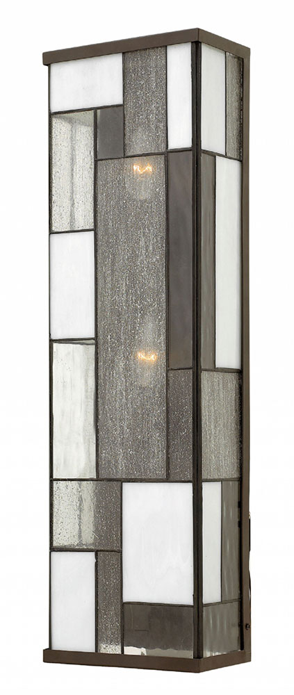 Hinkley 2155kz Mondrian Contemporary Buckeye Bronze Exterior Wall Lighting Fixture Hin 2155kz