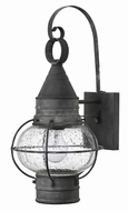 Hinkley 2200DZ Cape Cod Nautical Aged Zinc Outdoor Wall Light Sconce