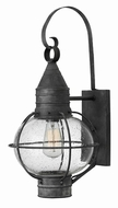 Hinkley 2204DZ Cape Cod Nautical Aged Zinc Outdoor Wall Sconce Light