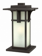 Hinkley 2237OZ Manhattan Contemporary Oil Rubbed Bronze Exterior Post Light Fixture