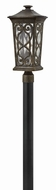 Hinkley 2271AM Enzo Traditional Autumn Outdoor Pole Lighting Fixture