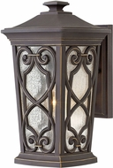 Hinkley 2274OZ Enzo Oil Rubbed Bronze Outdoor Medium Wall Lamp