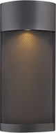 Hinkley 2307BK Aria Contemporary Black Halogen Exterior Lighting Wall Sconce