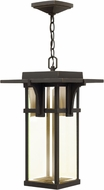 Hinkley 2322OZ-LED Manhattan Oil Rubbed Bronze LED Exterior Pendant Light