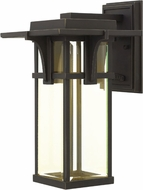 Hinkley 2324OZ-LED Manhattan Oil Rubbed Bronze LED Outdoor Wall Light Fixture
