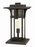 Hinkley 2327OZ Manhattan Contemporary Oil Rubbed Bronze Exterior Lamp Post Light Fixture