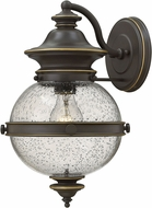Hinkley 2344OZ Saybrook Oil Rubbed Bronze Exterior Wall Sconce Light