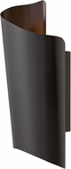 Hinkley 2355SK Surf Contemporary Satin Black LED Exterior Large Wall Sconce