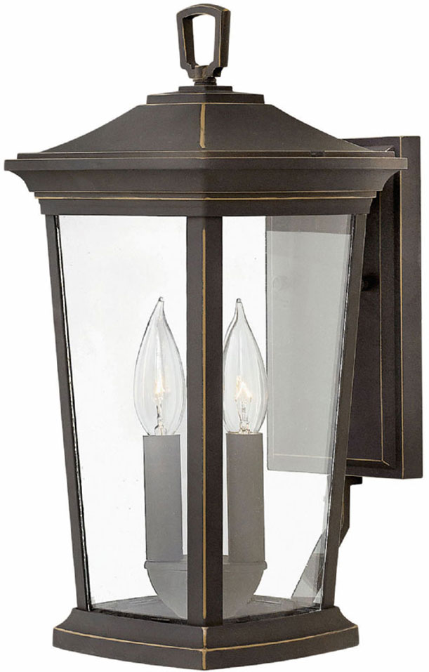 Hinkley 2360OZ Bromley Oil Rubbed Bronze Exterior Wall Mounted Lamp ...