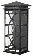 Hinkley 2434GS Clayton Traditional Greystone Finish 18.5 Tall Exterior Wall Lighting Sconce