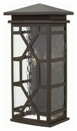 Hinkley 2434OZ Clayton Traditional Oil Rubbed Bronze Finish 8.75 Wide Outdoor Wall Sconce Lighting