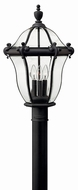 Hinkley 2441MB San Clemente Museum Black Outdoor Lamp Post Light