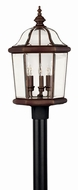 Hinkley 2451CB Augusta Copper Bronze Outdoor Lighting Post Light