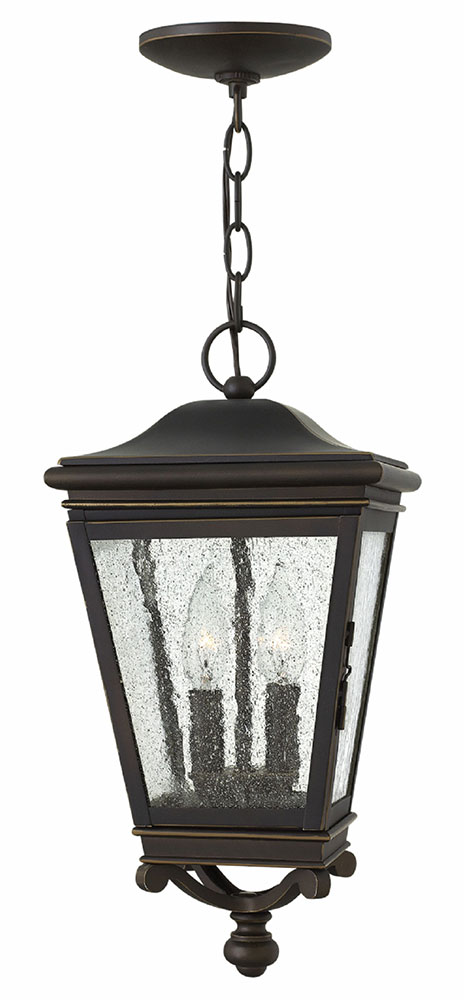 Hinkley 2462OZ Lincoln Oil Rubbed Bronze Exterior Pendant Hanging ...
