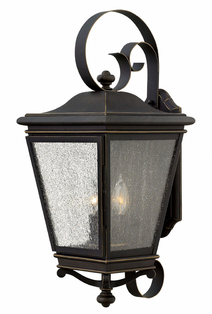 Hinkley 2468OZ Lincoln Oil Rubbed Bronze Outdoor Wall Light Fixture ...