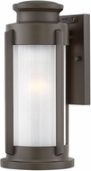 Hinkley 2490KZ Briggs Contemporary Buckeye Bronze Outdoor Small Wall Sconce Lighting