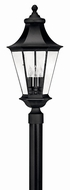 Hinkley 2501BK Senator Black Exterior Post Light Fixture