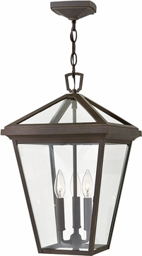 Hinkley 2562OZ Alford Place Oil Rubbed Bronze Exterior Drop Ceiling Light Fixture