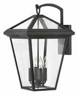 Hinkley 2568MB Alford Place Museum Black Exterior Extra Large Lamp Sconce