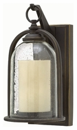 Hinkley 2614OZ Quincy Traditional Oil Rubbed Bronze Finish 13.5 Tall Exterior Wall Lighting Fixture