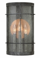 Hinkley 2625DZ Newport Traditional Aged Zinc Exterior Wall Light Sconce
