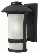 Hinkley 2704BK Chandler Black Finish 9  Wide Outdoor Wall Lighting