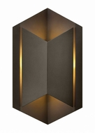 Hinkley 2714BZ Lex Modern Bronze LED Outdoor Light Sconce