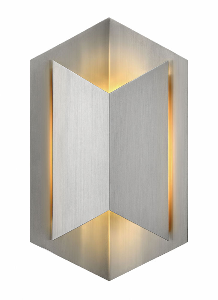 Hinkley 2714SS Lex Contemporary Stainless Steel LED Exterior ...