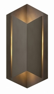 Hinkley 2715BZ Lex Modern Bronze LED Outdoor Lamp Sconce