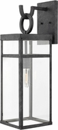 Hinkley 2805DZ Porter Aged Zinc Outdoor Large Wall Sconce Lighting