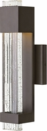 Hinkley 2830BZ Glacier Modern Bronze LED Outdoor Small Lighting Wall Sconce