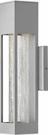 Hinkley 2850TT Vapor Contemporary Titanium Halogen Exterior Small Wall Sconce Light